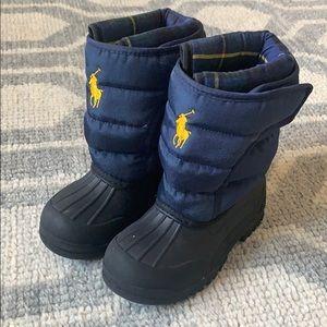 Kids Polo Ralph Lauren Snow Boots size US 10